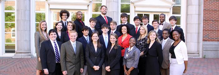 Blackburn Institute class of 2011