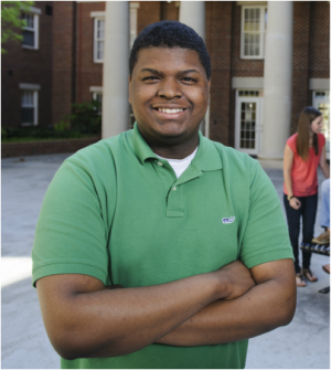 Photo of Blackburn Fellow Aaron Brazelton