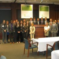 Spring 2013 - Meeting with representatives and touring the headquarters of Regions Bank